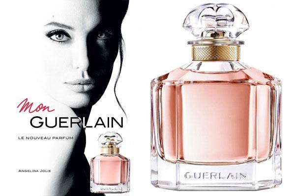 Angelina Jolie Mon Guerlain Perfume Celebrity Perfume Angelina