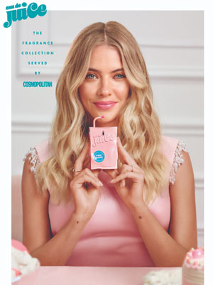 Ashley Benson Eau de Juice by Cosmopolitan Ad