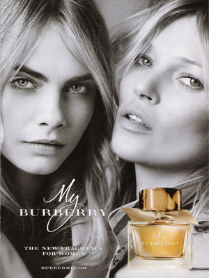 Cara Delevingne My Burberry