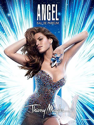 Eva Mendes Angel Thierry Mugler perfume celebrity scentsation