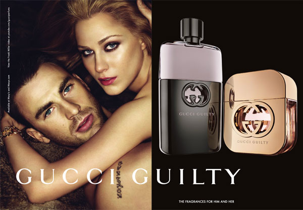 Evan Rachel Wood Gucci Guilty perfume celebrity scentsation