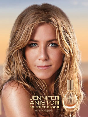 Jennifer Aniston Solstice Bloom celebrity scents