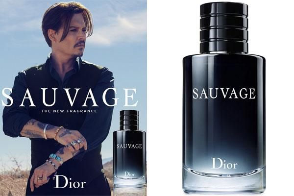 eae59de39 Johnny Depp Dior Sauvage Cologne, Celebrity Cologne Johnny Depp ...