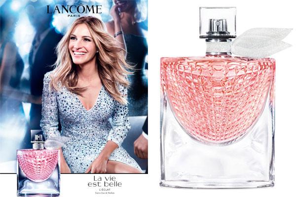 Julia Roberts La Vie Est Belle L Eclat Perfume Celebrity