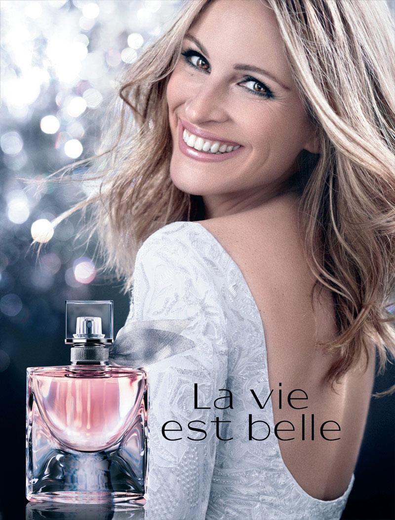 julia roberts lancome la vie est belle perfume celebrity perfume julia roberts celebrity. Black Bedroom Furniture Sets. Home Design Ideas