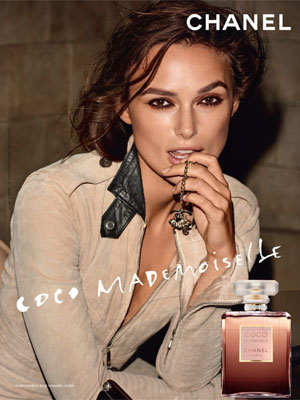 Keira Knightley Chanel Coco Mademoiselle