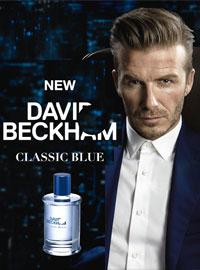 David Beckham David Beckham Classic Blue Cologne Celebrity Cologne