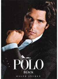Nacho Figuera Ralph Lauren Polo Black fragrance ad