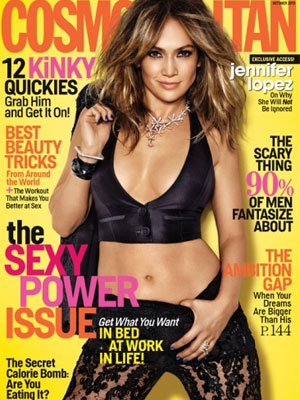 Cosmopolitan October 2013 Jennifer Lopez