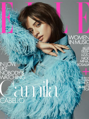 Camila Cabello Elle October 2019