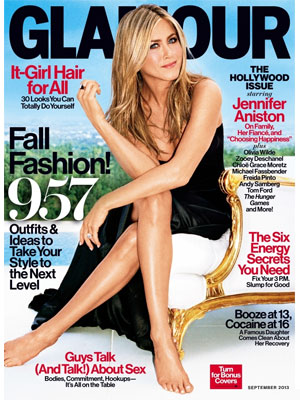 Glamour September 2013 Jennifer Aniston