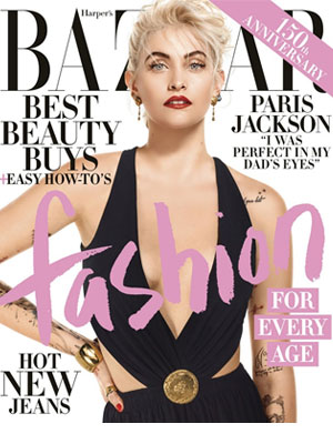 Paris Jackson Harper's Bazaar Magazine April 2017