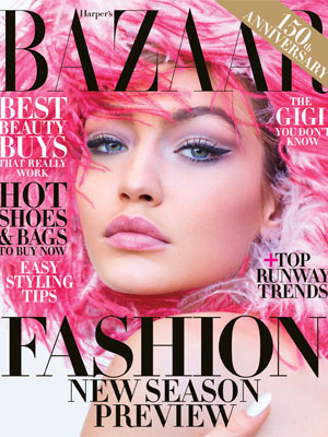 Gigi Hadid Harper's Bazaar June/July 2017