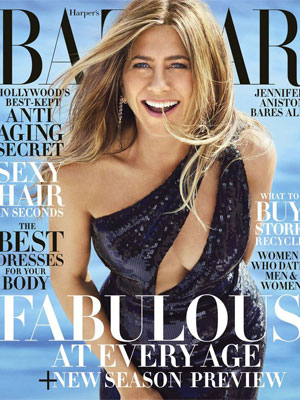 Jennifer Aniston Harper's Bazaar June 2019