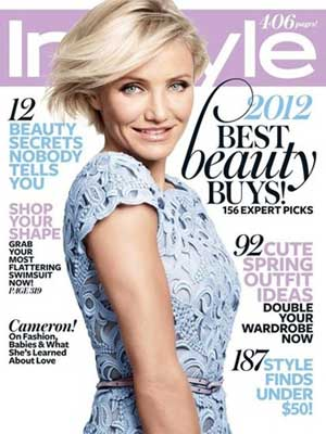 InStyle, May 2012, Cameron Diaz