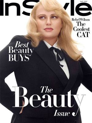Rebel Wilson InStyle May 2019