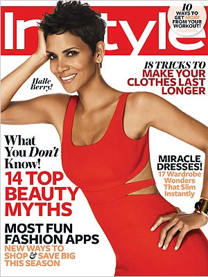 InStyle November 2012 Halle Berry