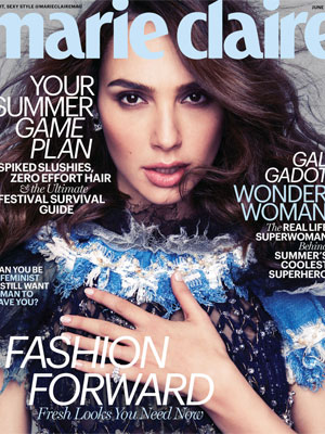 Gal Gadot Marie Claire June 2017