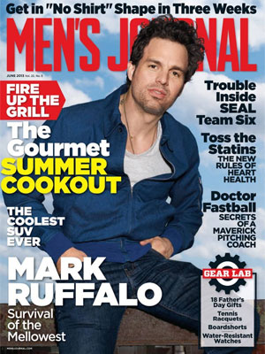 Men's Journal June 2013 Mark Ruffalo