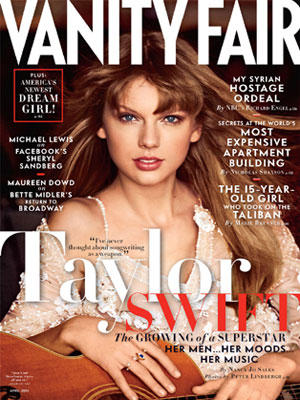 Vanity Fair April 2013 Taylor Swift