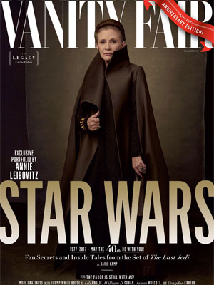 Carrie Fisher Vanity Fair Summer July 2017