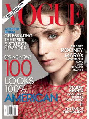 Vogue February 2013 Rooney Mara