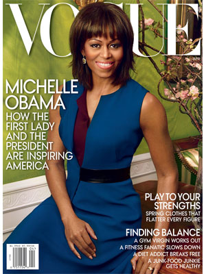 Vogue April 2013 Michelle Obama