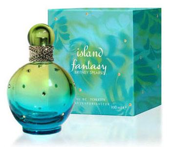 Britney spears island fantasy perfume celebrity perfume for Britney spears perfume