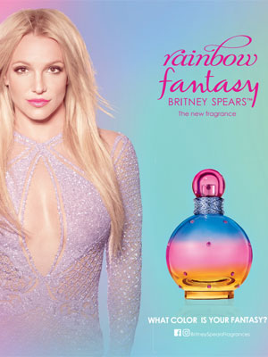 Britney Spears Rainbow Fantasy celeb scents