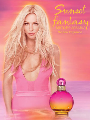 Britney Spears Sunset Fantasy celebrity perfumes