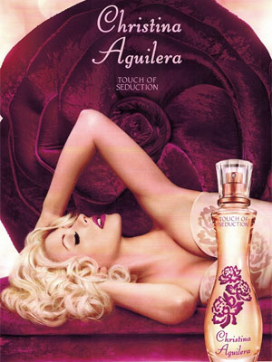 Christina Aguilera Touch of Seduction perfume celebrity