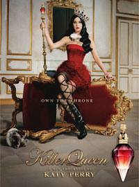 Katy Perry Killer Queen perfume celebrity ad
