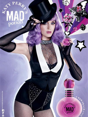 Katy Perry Mad Potion celebrity fragrances