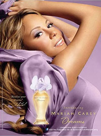 Mariah Carey Dreams perfume celebrity scentsation