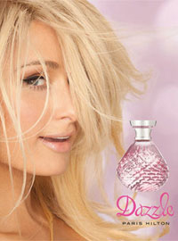 Paris Hilton Dazzle perfume celebrity scentsation